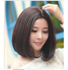 Women's Lady Short Straight Hair Full Wigs Cosplay Party Bob Hair Wig New