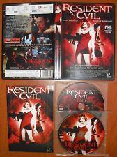Resident Evil (Biohazard) [2 discos DVD's] Milla Jovovich, Michelle Rodriguez