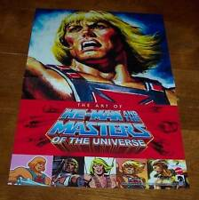 "HE-MAN MASTERS OF THE UNIVERSE PROMO POSTER NEW 11"" X 17"" MOTU Nintendo Link"