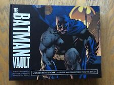 The Batman Vault, Museum In A Book! Rare! Look In The Shop!