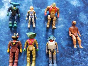 Dino Riders Konvolut Krulos Tyco Vintage Rüstung 80er 7 Action Figuren