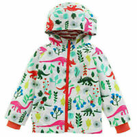 Toddler Kids Baby Coat Outerwear Boys Girls Hooded Jacket Windbreaker Clothes