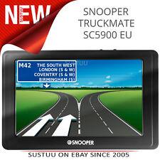 Snooper SC5900 DVR Truckmate GPS / Sat Nav │ Poids Lourds Système de Navigation
