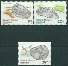 Greenland 2008 - Fossiler I Grønland - Complete Set - MNH - Very Fine