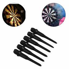 50/100/200PCS Black Soft Tip Points For Soft Tip Darts Electronic Dart Tool A4Z7