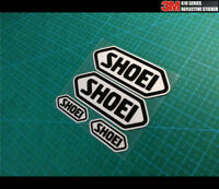 4 pics SHOEI HELMET Motorcycle Vinyl Reflective Decal Sticker