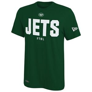 New Era Football NFL Men's New York Jets Grids Primary Team Color T-Shirt