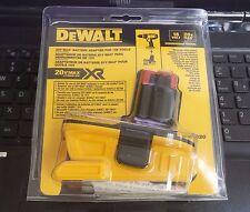 Dewalt DCA1820 20V Max XR Battery Adapter for 18V Tools in retail pack, 100% NEW