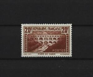 TIMBRE 20 F CHAUDRON PONT DU GARD TYPE II B  NEUF GOMME ORIGINALE   S/C 1930