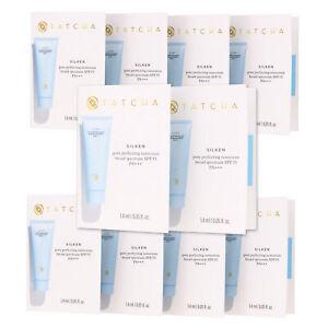 10 Pack Tatcha Silken Pore Perfecting Sunscreen SPF 35 PA+++ Sampler