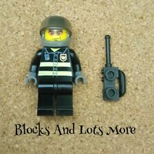 Lego City Town Fireman Figure From 7238 Fire Helicopter Set