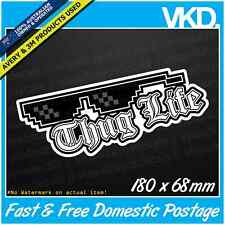 Thug Life Sticker/ Decal - Deal With It JDM DRIFT BOMB FUNNY VINYL MEME GTA 4x4