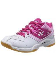Yonex Women SHBFINLX Badminton Shoe Bright Pink 9.0 New Condition