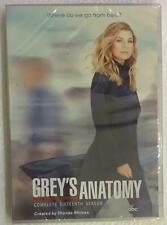 Greys anatomy season 16 dvd