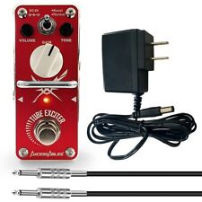 AxcessAbles Tube Exciter Overdrive Guitar Pedal w/ Cable and Power Supply