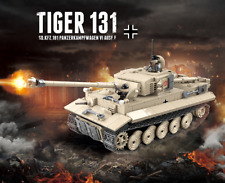 Klemmbaustein - Set WW2 Panzer VI Tiger mit Soldaten OVP LEGO/COBI Kompatibel