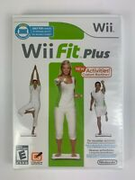 Wii Fit Plus Game - Nintendo Wii - BRAND NEW SEALED