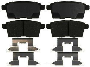 Disc Brake Pad Set-Ceramic Disc Brake Pad Rear ACDelco Pro Brakes 17D1259CH
