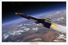 North American X-15 Art Print by Mark Karvon