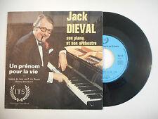 JACK DIEVAL : UN PRENOM POUR LA VIE ♦ 45t. PORT GRATUIT ♦