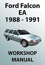 FORD FALCON EA Series WORKSHOP MANUAL: 1988-1991