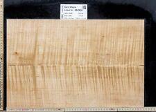 Tonewood Hard Maple  Tonholz Guitar 75x 11x 2,3 cm Neck Halskantel Pen Blank