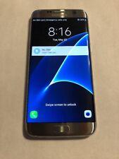 Samsung Galaxy S7 edge SM-G935 32GB Silver Titanium (US cellular) GSM Unlocked!