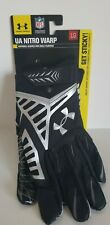 NWT Under Armour UA Nitro Warp Men's Football Gloves 1248296-003 Large