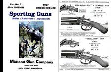 Midland Sporting Guns 46th ed - 1927 Catalogue