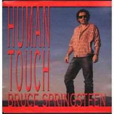 "Bruce Springsteen Human Touch 7"" Vinyl Netherlands Columbia 1992 B/w Souls of"