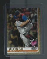 PETE ALONSO  2019 Topps Update #US262  GOLD RC  0754/2019  N.Y. Mets