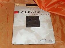 Fabiani Satin Sheers Strumpfhose schwarz Gr. M Neuware 36