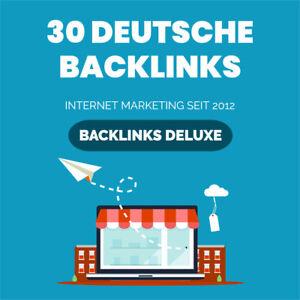 30 DEUTSCHE Backlinks - Bookmarks - 100% manuelle Bearbeitung - Linkaufbau - SEO
