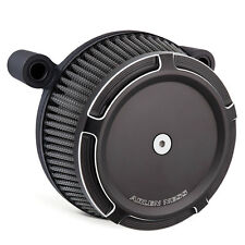 Arlen Ness Big Sucker Stage I Air Cleaner Kit w/Beveled Cover Black 50-841