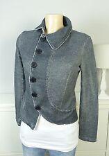 PLEASE Sweat-Blazer Jacke Jogg Jacket Grau Gr. S 36 (DC16)