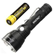 Combo: Eagletac SX30C2 XHP35 HD E4 CW LED Flashlight Kit w/NL183 2300mAh Battery