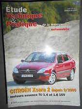 Citroën XSARA 2 depuis 09/2000 essence : revue technique RTA 647
