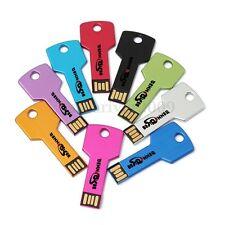 New 1GB Metal Key Style USB 2.0 Memory Flash Drive Thumb Pen Stick Pocket 1G