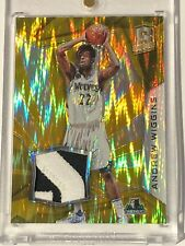 2015-16 Panini Spectra Andrew Wiggins GOLD PATCH 07/10 #31 PRIZM