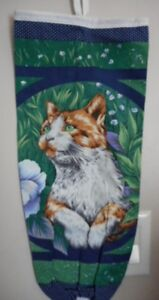 MadieBs Sweet Looking Kitty Bagholder Dispenser for Plastic Bags
