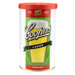 Coopers Australian Lager Home Brew Beer Making Ingredient Kit Makes 40 Pints