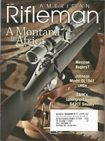 American Rifleman Magazine July 2005 Kimber's .308 Montana, Johnson 1941 LMGS