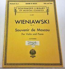 Partituras y libretos de música contemporáneos violín