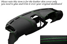 GREEN STITCH DASH DASHBOARD LEATHER SKIN COVER FITS MITSUBISHI FTO 1994-2001