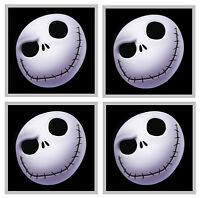 NIGHTMARE BEFORE CHRISTMAS  - SET OF 4 FUN COASTERS - GIFT/ PRESENT - BRAND NEW