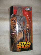 "Hasbro Star Wars 12"" Chewbacca KB Toys Exclusive Revenge Of The Sith Figure NIP"