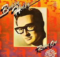 BUDDY HOLLY rave on MFP 50176 uk music for pleasure LP PS EX/EX