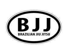 BJJ Brazilian Jiu Jitsu Mixed Martial Arts Boxing Euro Decal