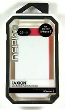 Incipio Faxion for iPhone 5/5S Case, Optical White / Cherry Blossom, Retail