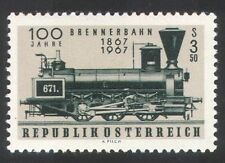 Austria 1967 Trains/Steam Engine/Railways/Rail/Transport 1v (n24912)